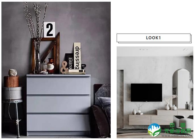 """进阶装修大法,灰色也能玩出""""花"""" 涂料在线,coatingol.com"""